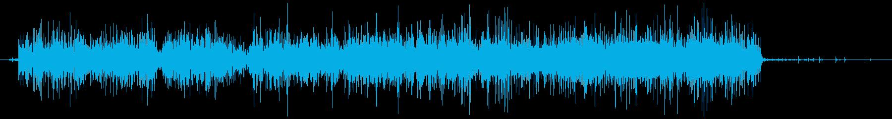 ノズル付きガーデンホース:ジェット...の再生済みの波形