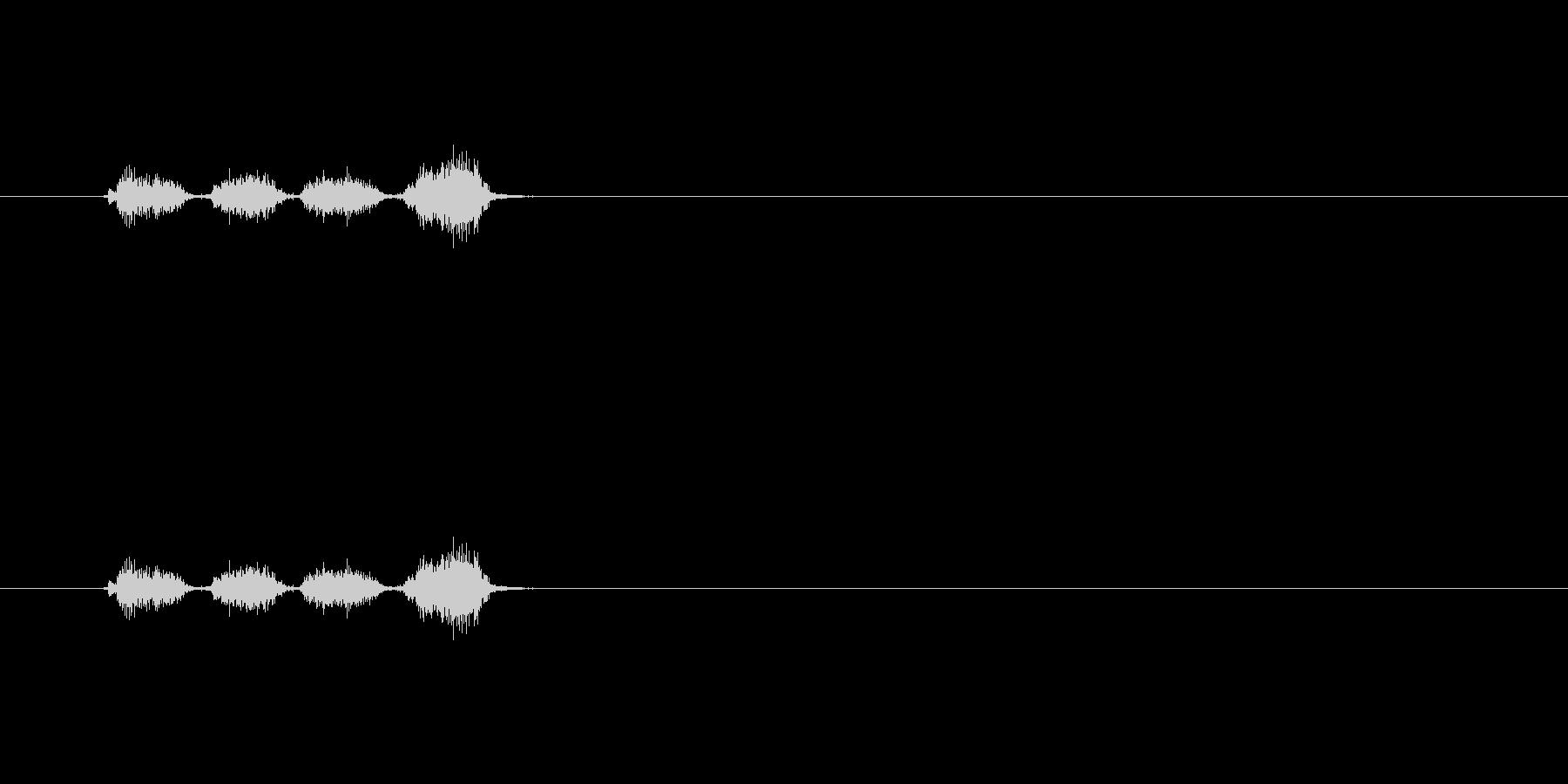 【消しゴム01-4(こする)】の未再生の波形
