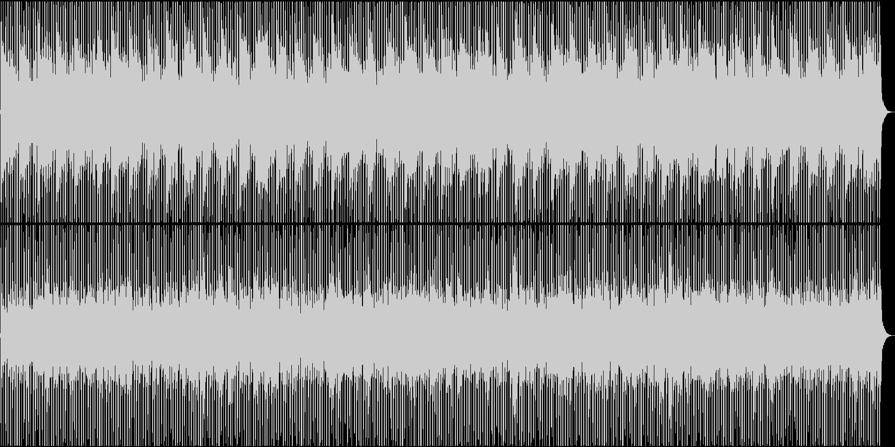 シティ・空撮・おしゃれなローファイポップの未再生の波形