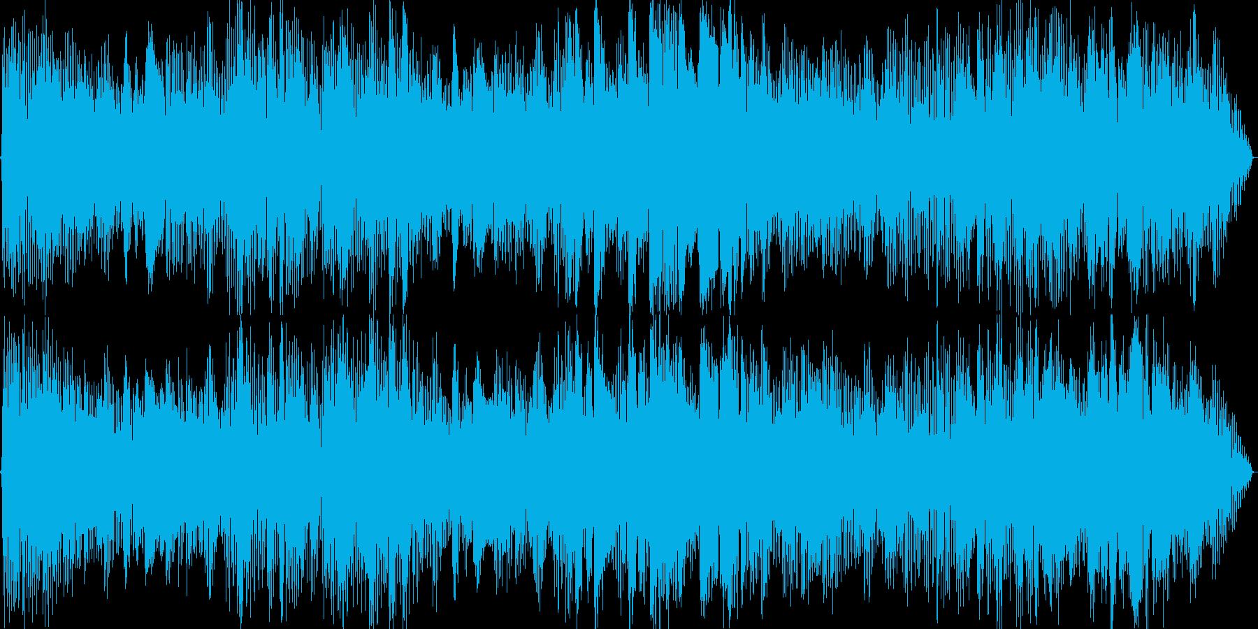 Jazzy_BGMの再生済みの波形