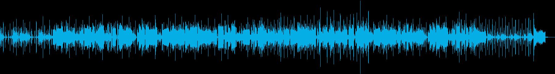 サックスが奏でるレゲエナンバーの再生済みの波形