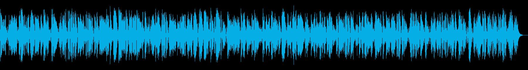 朝ドラで使われる古めかしいジャズバンドの再生済みの波形