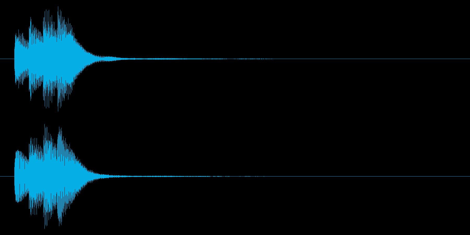 タラララン↑/ニュース/テロップ/通知の再生済みの波形