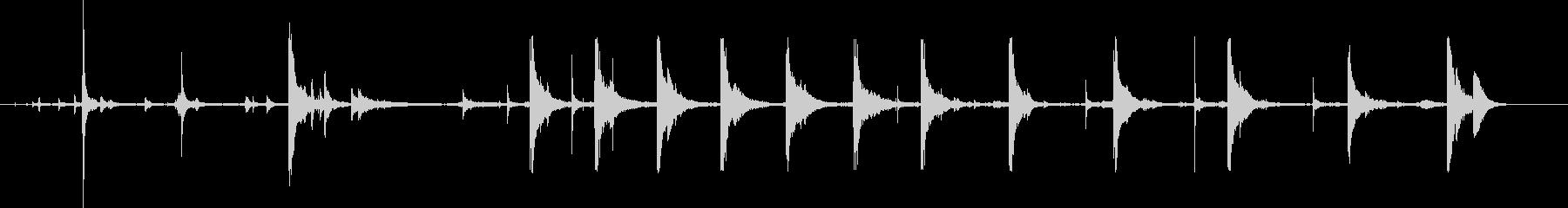 ケーブルクロス、アームエクササイズ...の未再生の波形