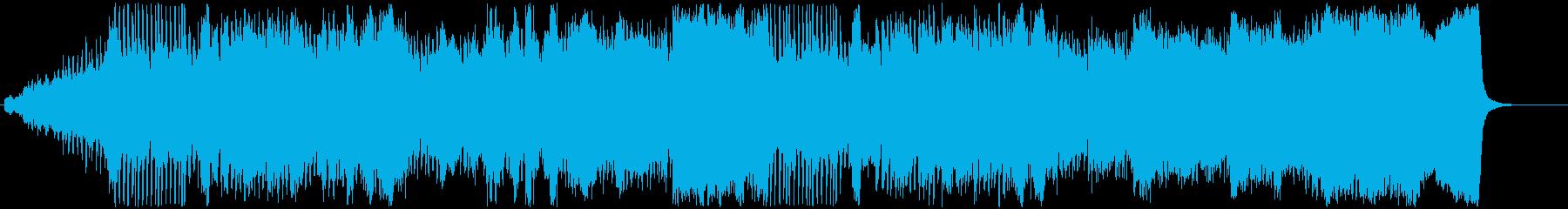 オープニング用オーケストラの再生済みの波形