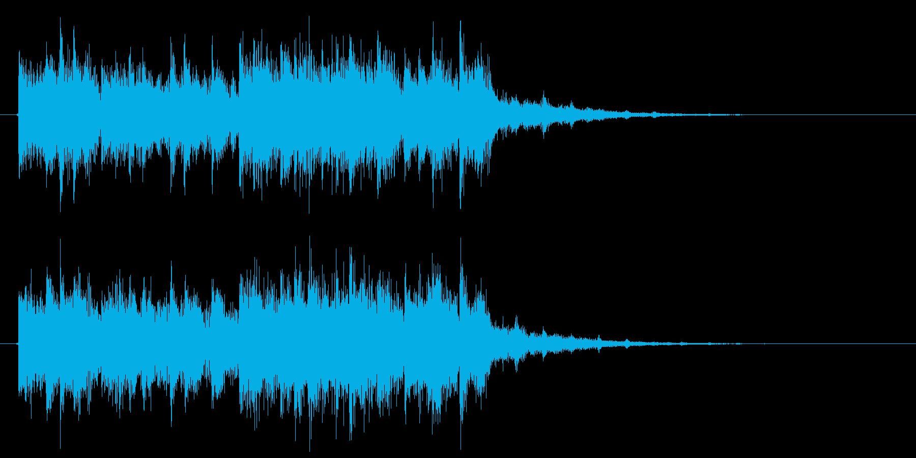 ジングル、サウンドロゴ、シンセ、かわいいの再生済みの波形