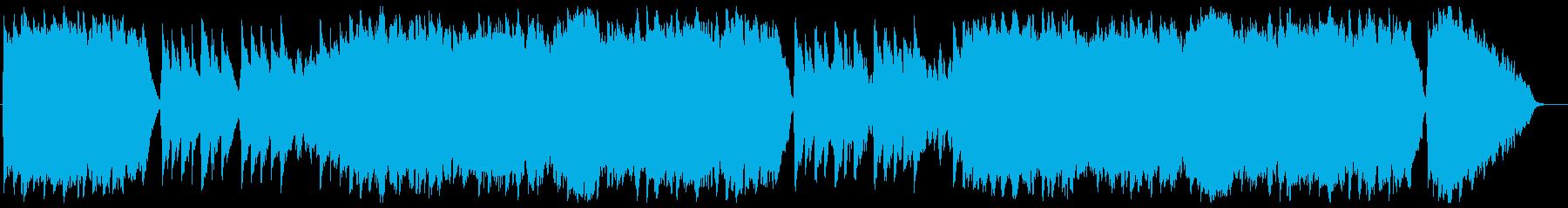 オーラ・リー(ラブ・ミー・テンダー原曲)の再生済みの波形