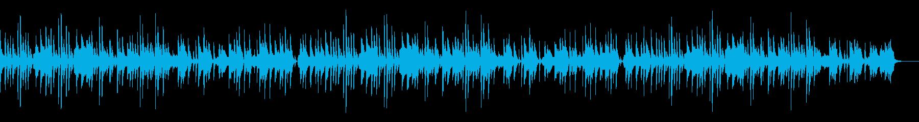 和風=のんきでやや切ない-小鼓入りの再生済みの波形