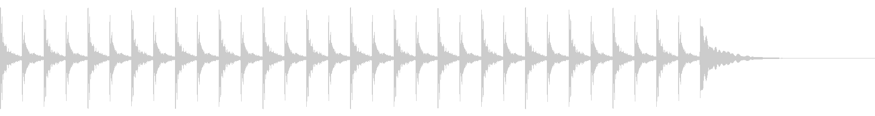 考える/シンキングタイム/クイズ/閃きの未再生の波形