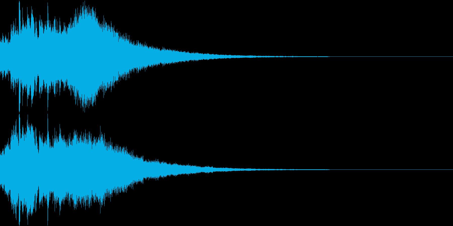 クリスマス ジングルベル キラキラ 14の再生済みの波形