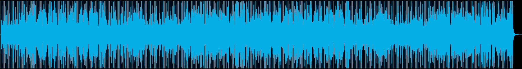 爽やかで疾走感のあるアコギメインの曲の再生済みの波形