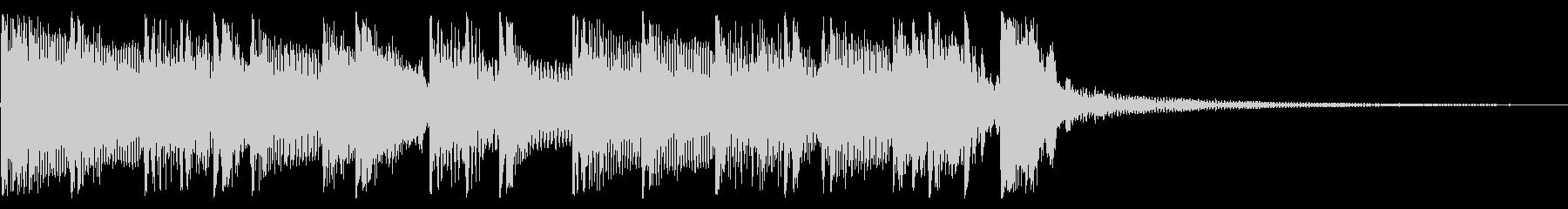 パンキッシュなロックジングル05の未再生の波形
