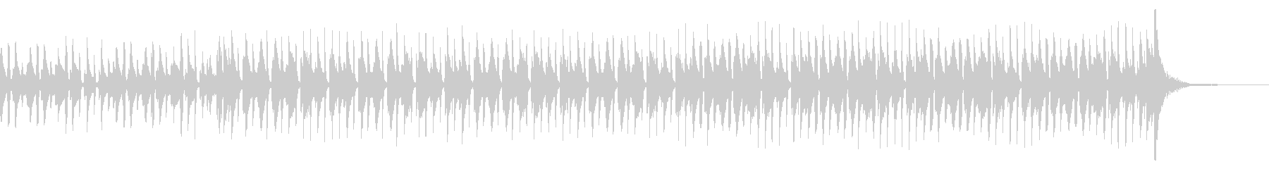 口笛が印象的なハワイアンの未再生の波形