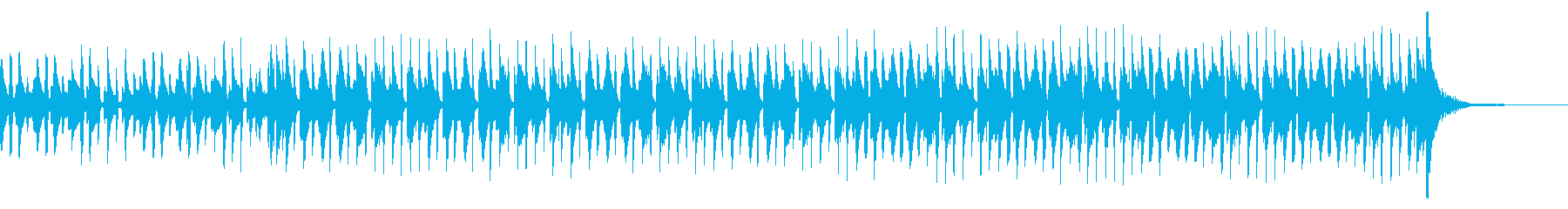 口笛が印象的なハワイアンの再生済みの波形