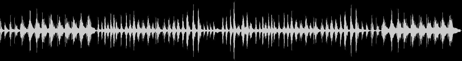 優しさ溢れるピアノ主体のサウンドスケープの未再生の波形