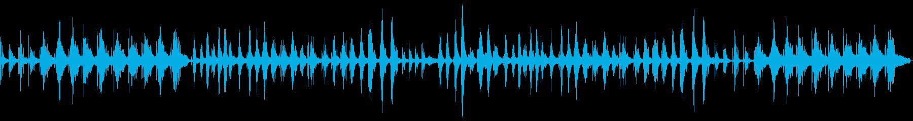 優しさ溢れるピアノ主体のサウンドスケープの再生済みの波形