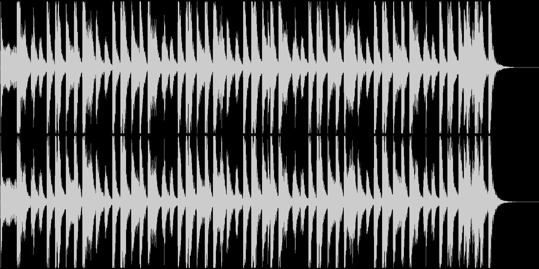 クイズの考え中BGM【15秒】の未再生の波形