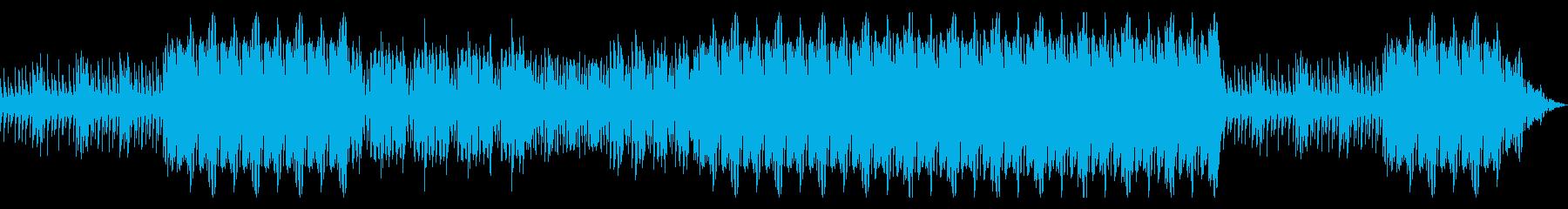 緊張感のあるドラムサウンドの再生済みの波形