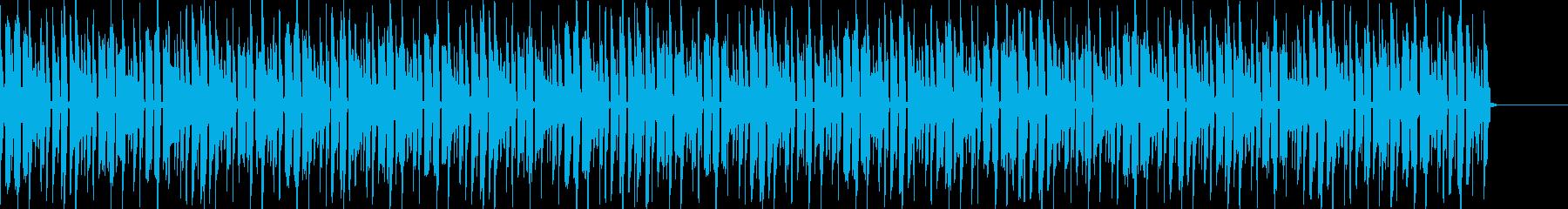 可愛い夏をイメージしやすいヒップホップの再生済みの波形