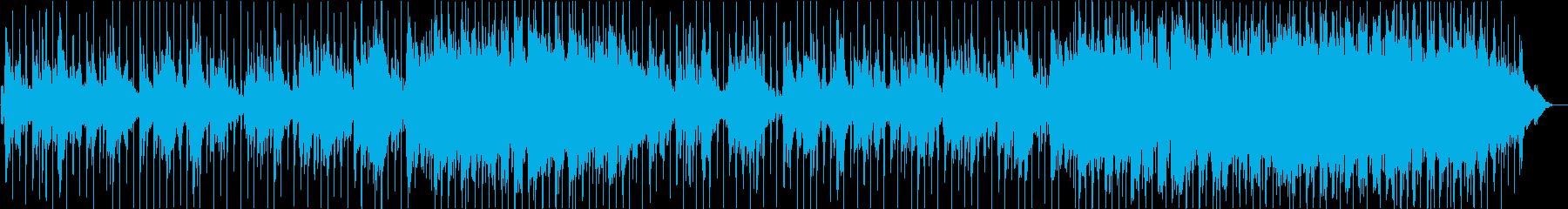 DreamyローファイHiphopの再生済みの波形