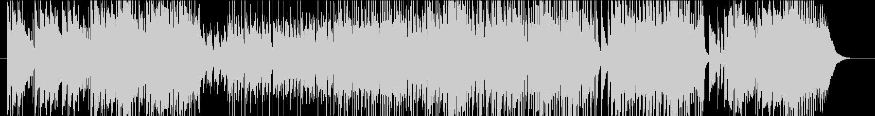 エスニックでミステリアスなBGMの未再生の波形