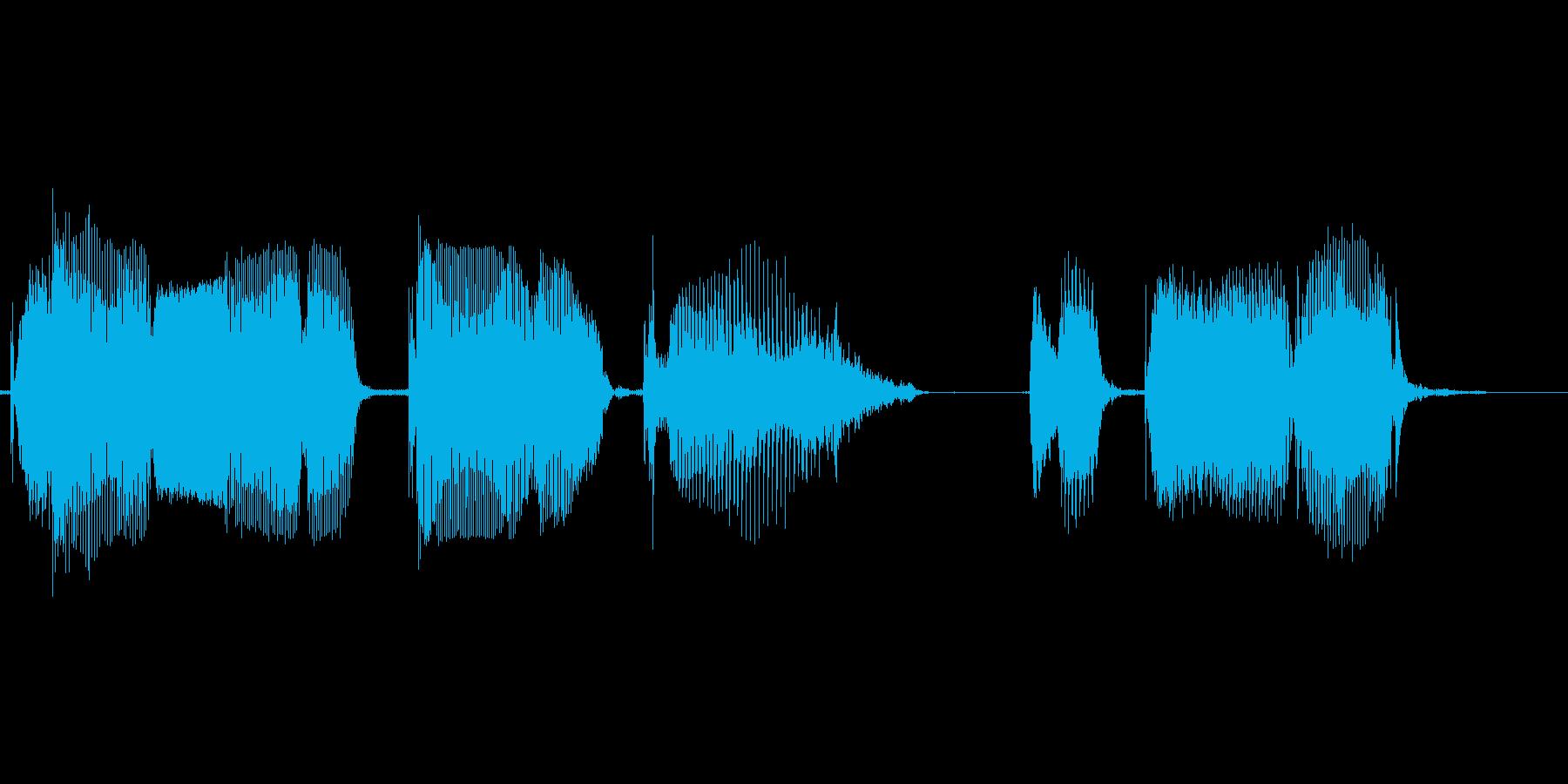 チャンネル登録は、こちらの再生済みの波形