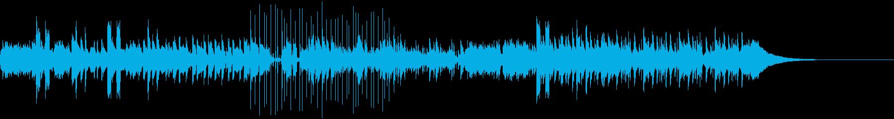 アレっと思わせる変拍子のニューウェイヴの再生済みの波形