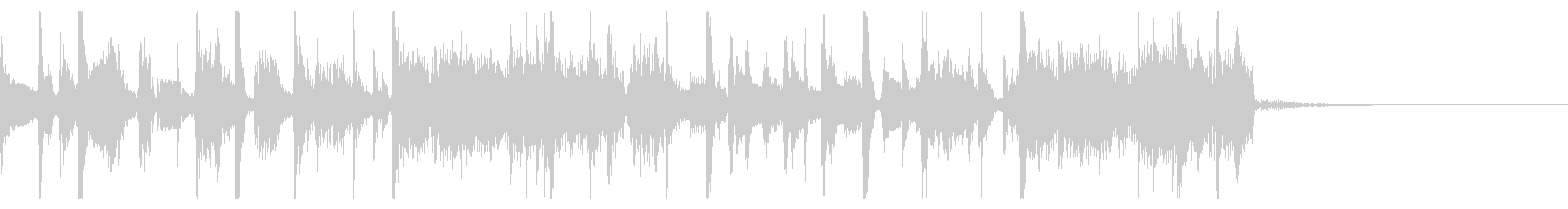 Funky jingle's unreproduced waveform