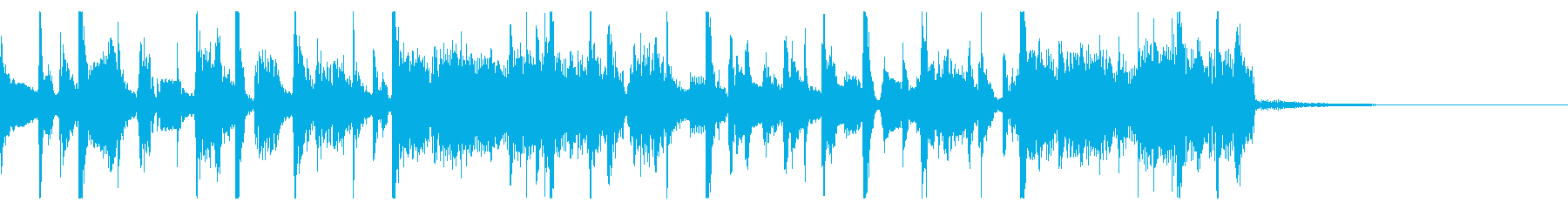 Funky jingle's reproduced waveform