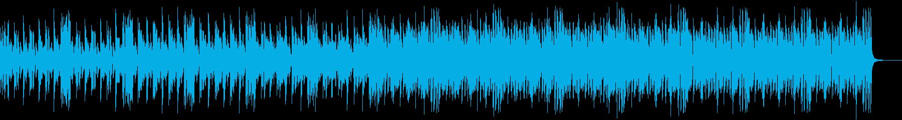 天気ニュースBGMの再生済みの波形