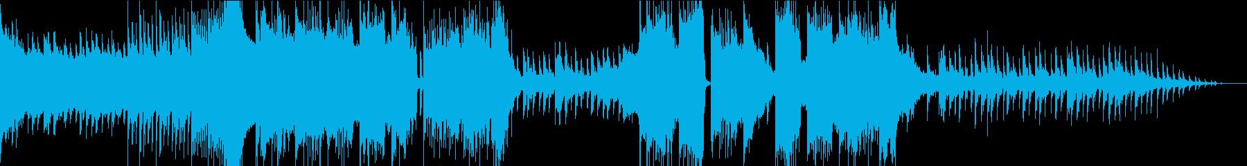 攻撃的なワブルベースのダブステップの再生済みの波形