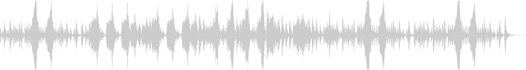 日常系BGMの未再生の波形