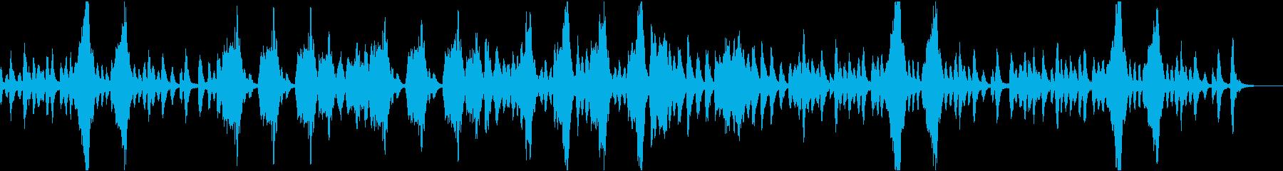 日常系BGMの再生済みの波形