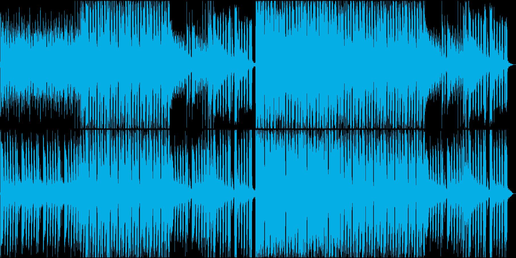爽やかな風を感じるバンドサウンドの再生済みの波形