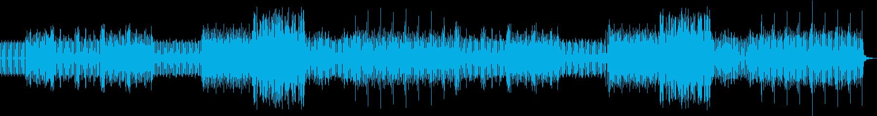 EDMエレクトニックの再生済みの波形