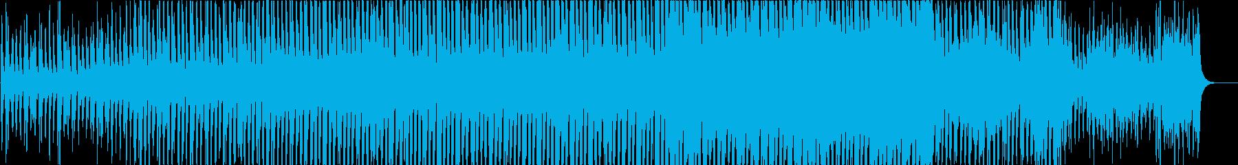 前進していく企業VP向けオーケストラの再生済みの波形