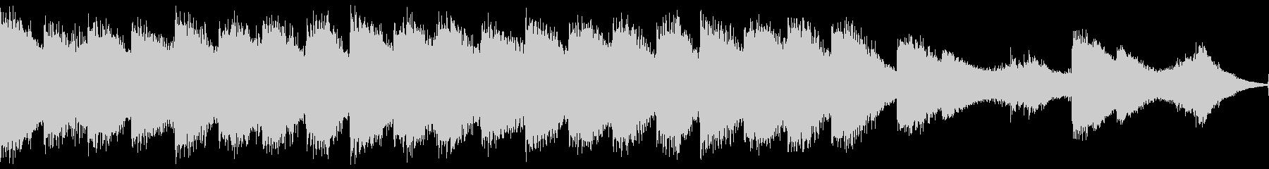 不気味な和風ホラーBGM・ループの未再生の波形