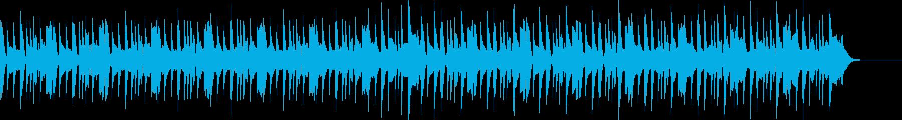 コミカルなテクノポップジングル30秒の再生済みの波形
