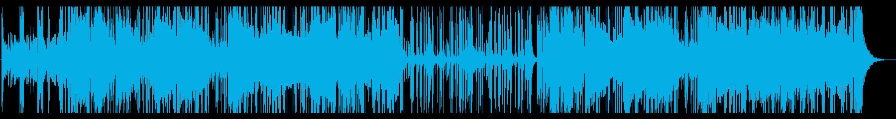 夜に合うクールなエレクトロ・フュージョンの再生済みの波形