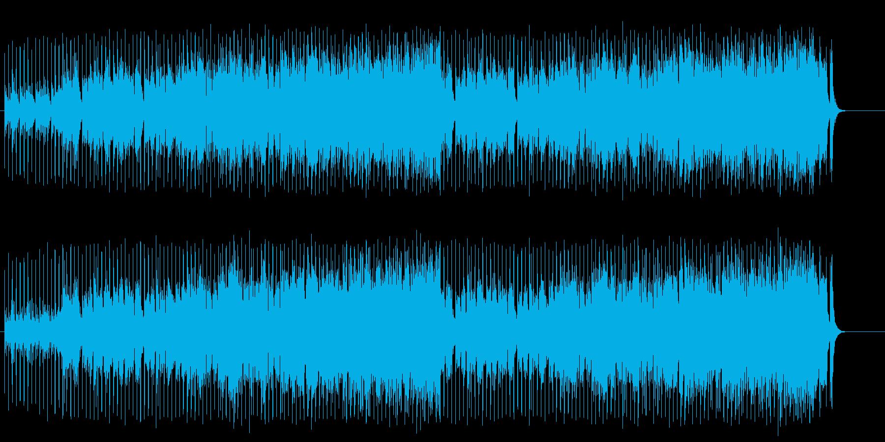 躍動的なマイナー・ポップ/ダンスの再生済みの波形