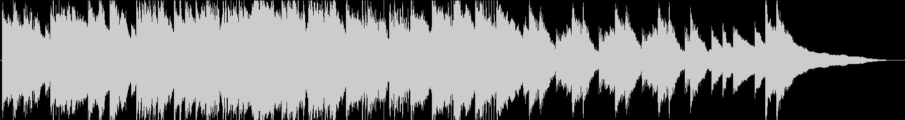 忍び寄る影…クラシック調の不気味なホラーの未再生の波形
