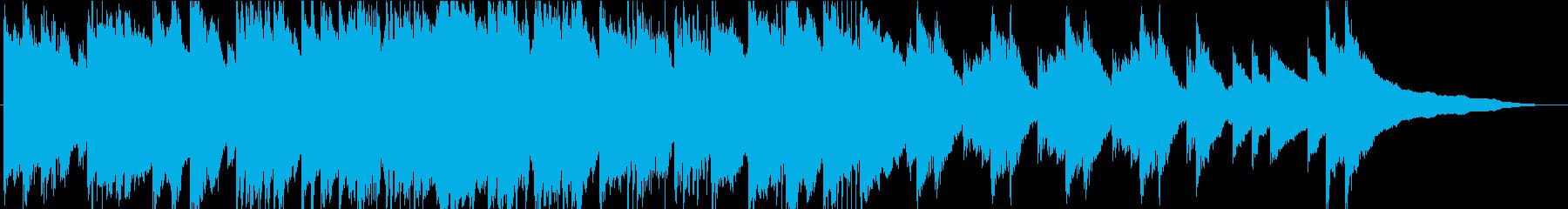 忍び寄る影…クラシック調の不気味なホラーの再生済みの波形