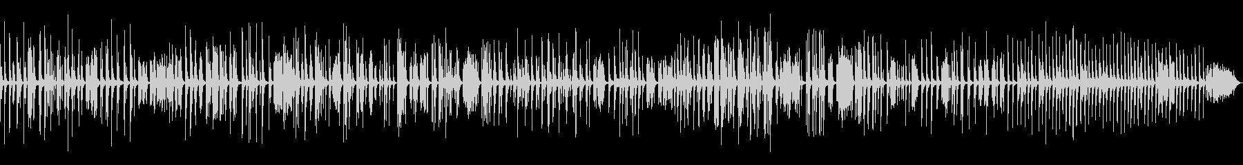 KANTちょうど25分のピアノ現代曲の未再生の波形