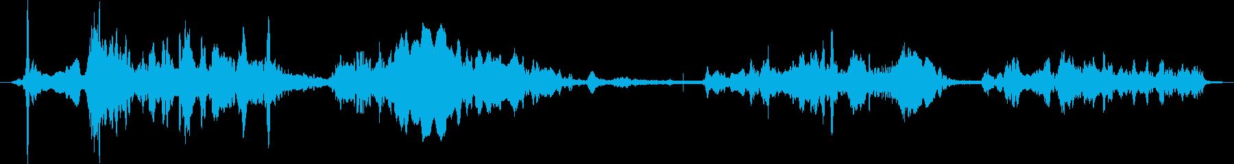ティベルウルフのパック:ハウリング...の再生済みの波形