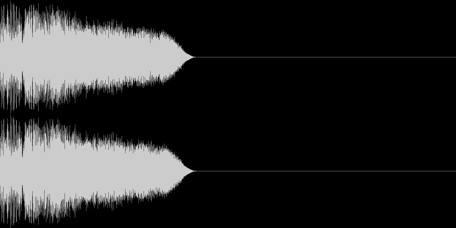 8ビット ファミコン ジャンプ ビーム3の未再生の波形