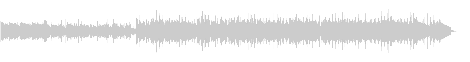 テンポ速めのさわやかギターサウンドの未再生の波形