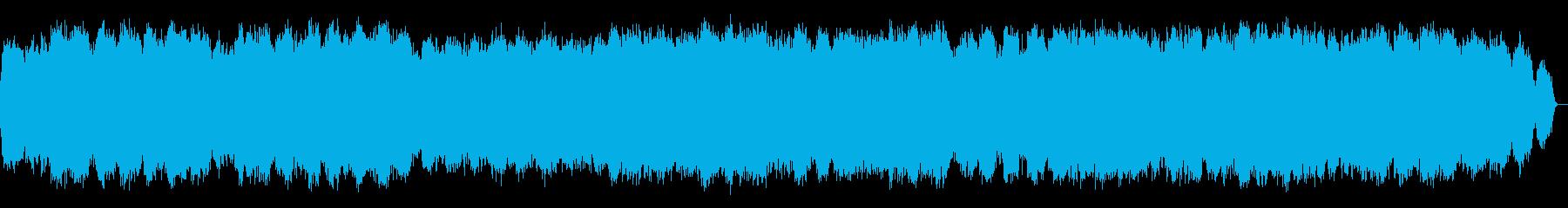 心落ち着く笛のヒーリングミュージックの再生済みの波形
