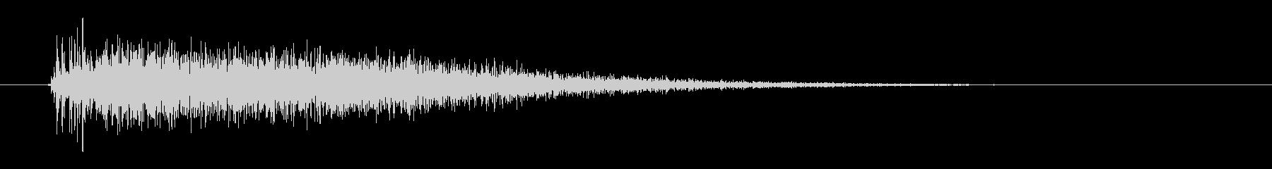 レーザー音-14-3の未再生の波形