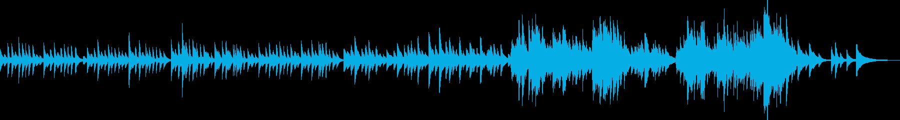 子守歌のような美しいピアノBGMの再生済みの波形