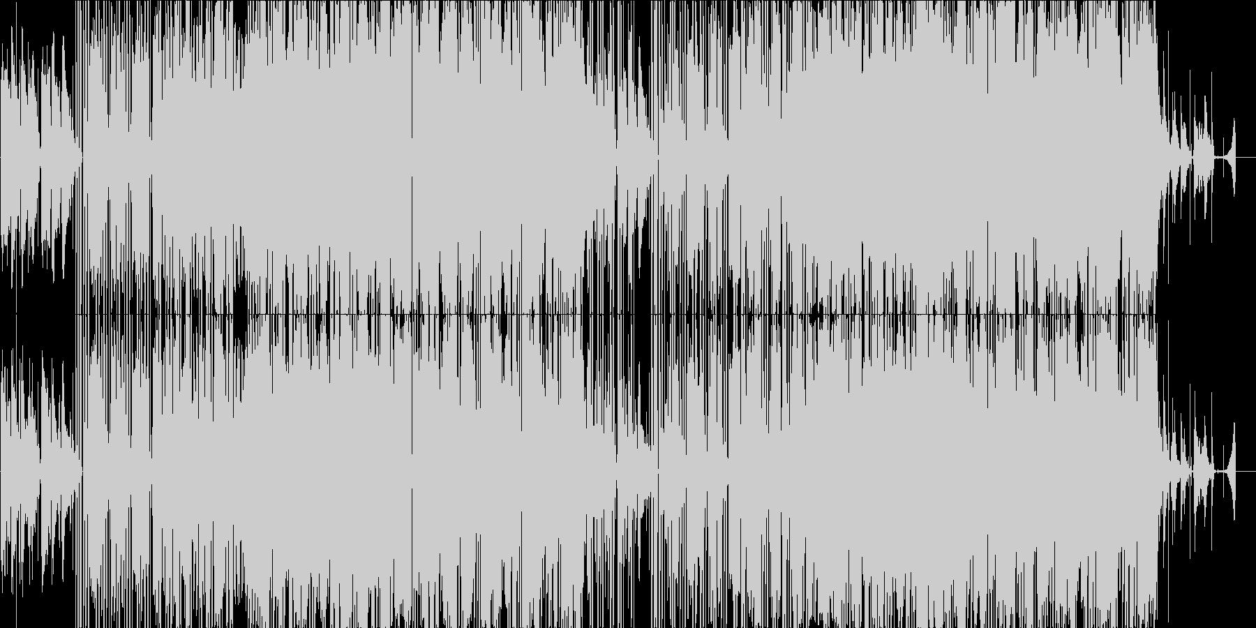 オシャレで爽やかなギターのLO-FIの未再生の波形